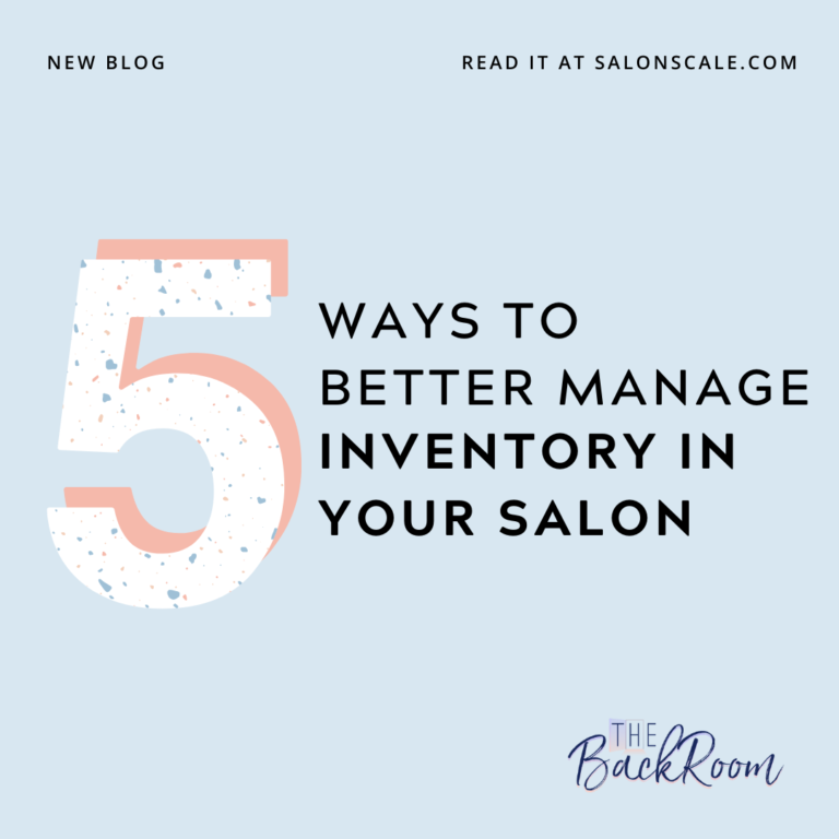 5 Ways to Manage Your Salon Inventory for Success
