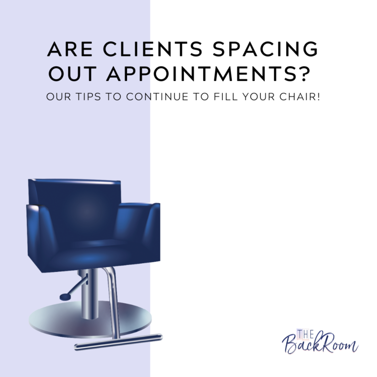 Are Clients Spacing Out Appointments?