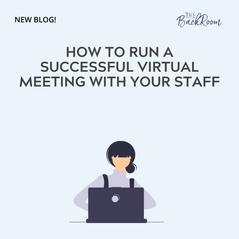 How to Run a Successful Virtual Meeting with Your Staff