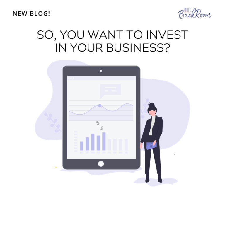So, You Want to Invest in Your Business?