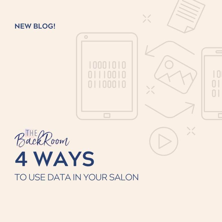 4 Ways to use Data in Your Salon