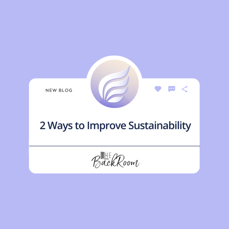 2 Ways to Improve Sustainability in your Salon